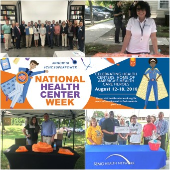 National Health Center Week Collage